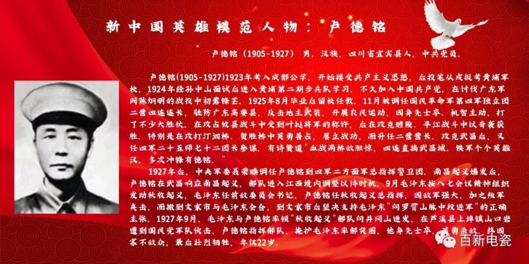 学习党史教育活动︱参观卢德铭烈士纪念馆